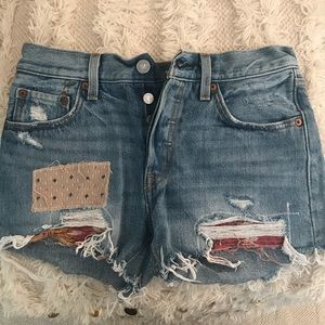 Levi Jean shorts from Free People